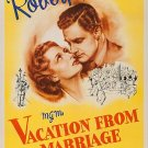 Vacation From Marriage (1945) - Robert Donat  DVD