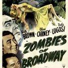 Zombies On Broadway (1945) - Bela Lugosi  DVD
