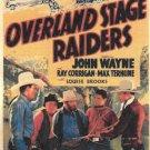 Overland Stage Raiders (1938) - John Wayne  DVD