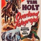 Overland Telegraph (1951) - Tim Holt  DVD