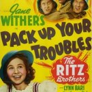 Pack Up Your Troubles (1939) - Ritz Brothers  DVD