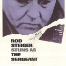 The Sergeant (1968) - Rod Steiger  DVD