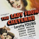 The Lady From Cheyenne (1941) - Loretta Young  DVD