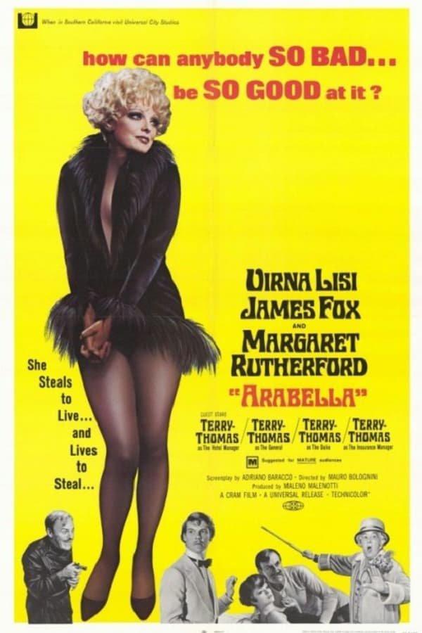 Arabella (1967) - Virna Lisi  DVD