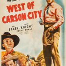 West Of Carson City (1940) - Johnny Mack Brown  DVD
