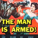 The Man Is Armed (1956) - Dane Clark DVD