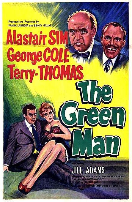 The Green Man (1956) - Alastair Sim  DVD