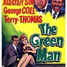 The Green Man (1956) - Alastair Sim  DVD