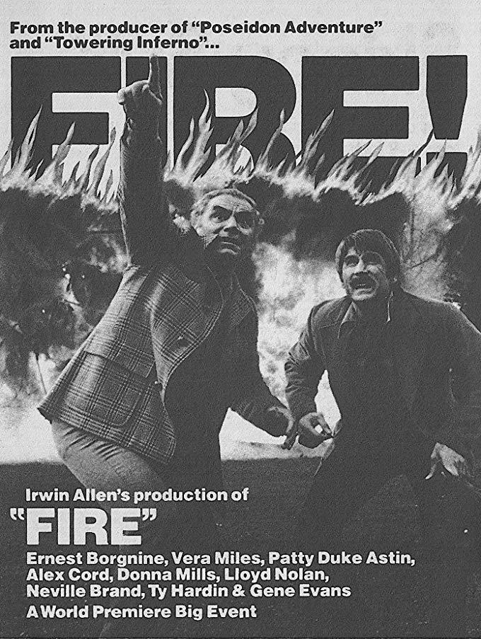 Fire (1977) - Ernest Borgnine  DVD