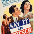 Say It In French (1938) - Ray Milland  DVD