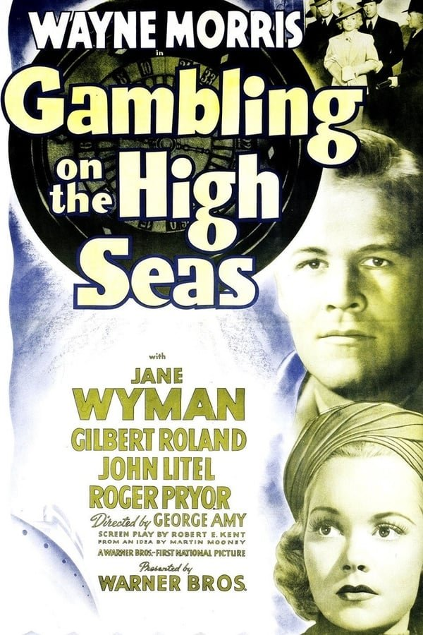 Gambling On The High Seas (1940) - Wayne Morris  DVD