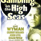 Gambling On The High Seas (1940) - Wayne Morris  DVD