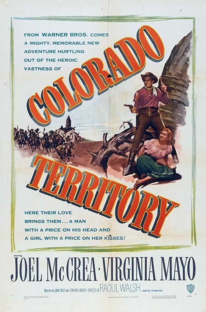 Colorado Territory (1949) - Joel McCrea  DVD