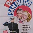 Down In San Diego (1941) - Bonita Granville  DVD