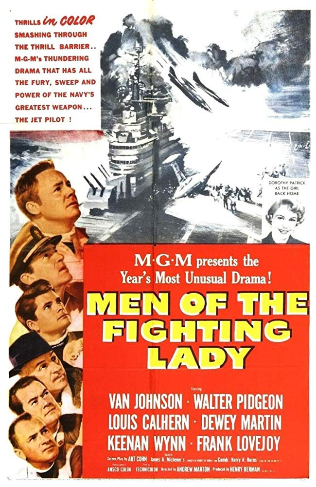 Men Of The Fighting Lady (1954) - Van Johnson  DVD