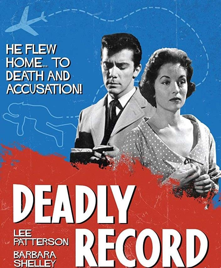 Deadly Record (1959) - Barbara Shelley   DVD