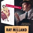 The Thief (1952) - Ray Milland  DVD