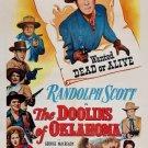 The Doolins Of Oklahoma (1949) - Randolph Scott  DVD