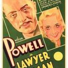 Lawyer Man (1932) - William Powell  DVD