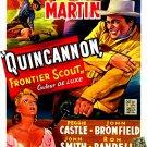 Quincannon, Frontier Scout (1956) - Tony Martin  DVD