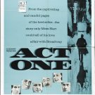 Act One (1963) - George Hamilton  DVD