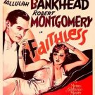 Faithless (1932) - Robert Montgomery  DVD