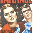 Sabotage (1939) - Arleen Whelan  DVD