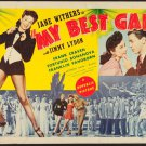My Best Gal (1944) - Jane Withers  DVD