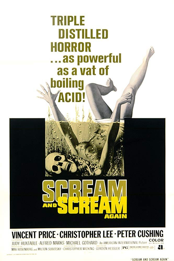 Scream And Scream Again (1970) - Christopher Lee  DVD