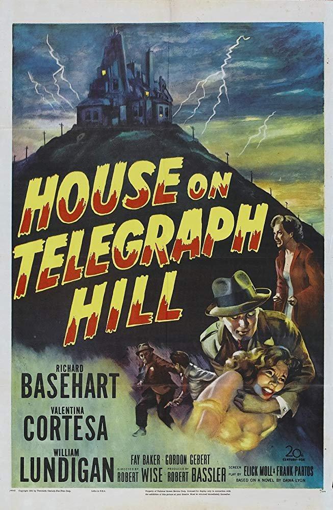 House On Telegraph Hill (1951) - Richard Basehart  DVD