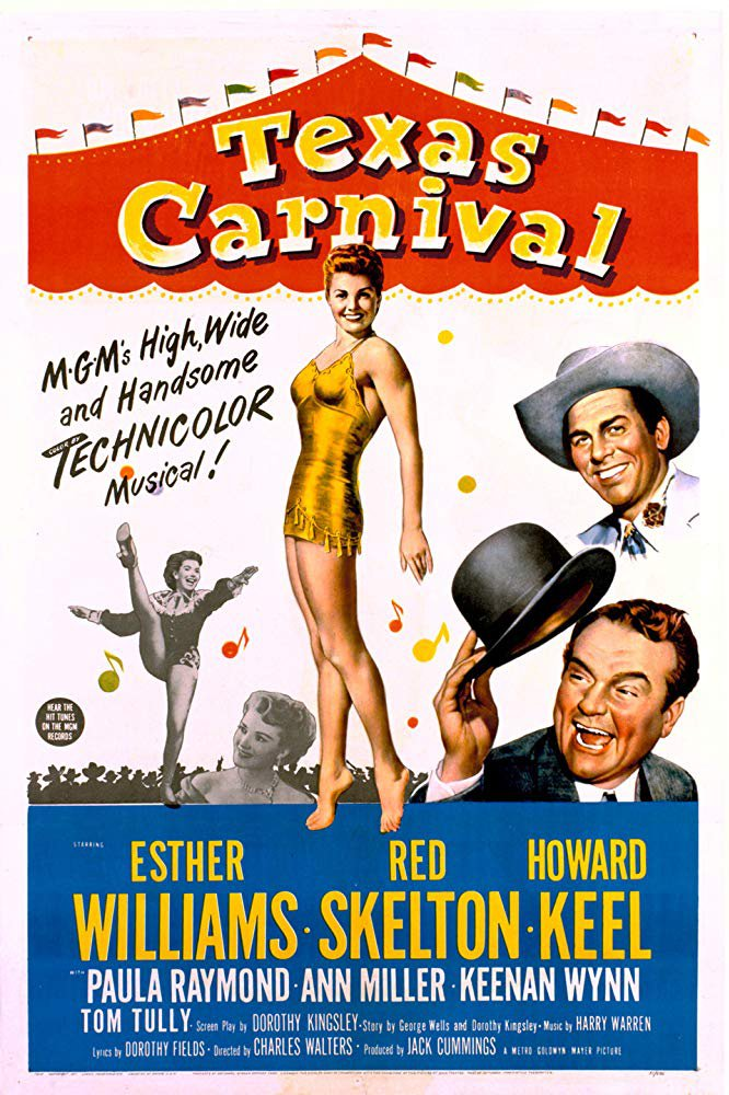 Texas Carnival (1951) - Esther Williams  DVD
