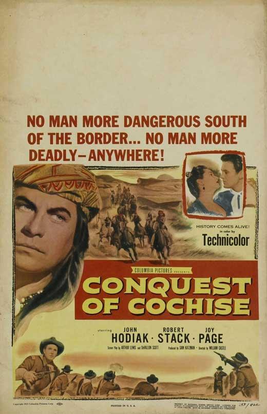 Conquest Of Cochise (1953) - John Hodiak  DVD