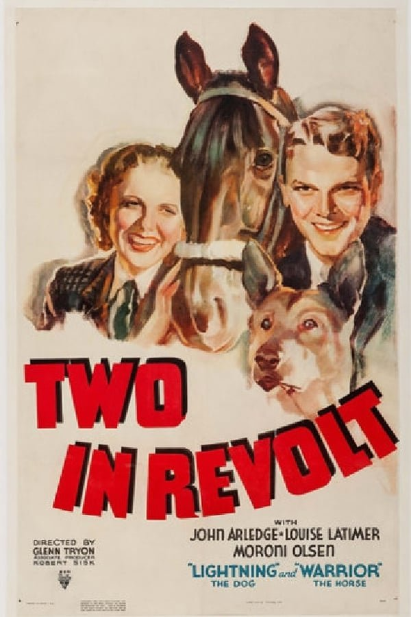 Two In Revolt (1936) - John Arledge  DVD