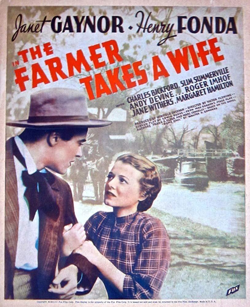 The Farmer Takes A Wife (1935) - Henry Fonda  DVD