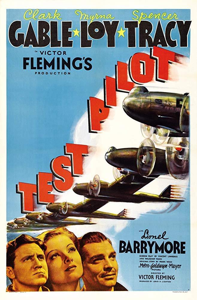 Test Pilot (1938) - Clark Gable  DVD