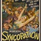 Syncopation (1942) - Adolphe Menjou  DVD