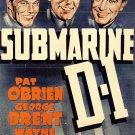 Submarine D-1 (1937) - Pat O´Brien  DVD