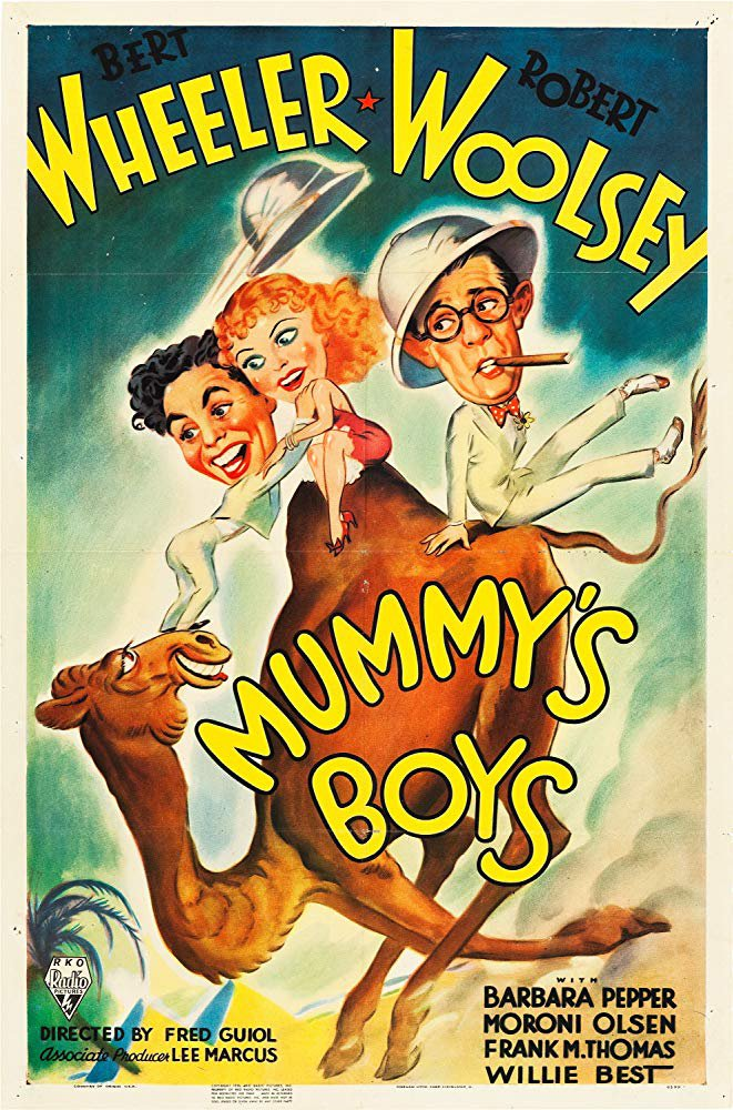 Mummy´s Boys (1936) - Wheeler & Woolsey  DVD