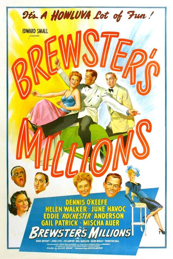 Brewster´s Millions (1945) - Dennis O´Keefe  DVD