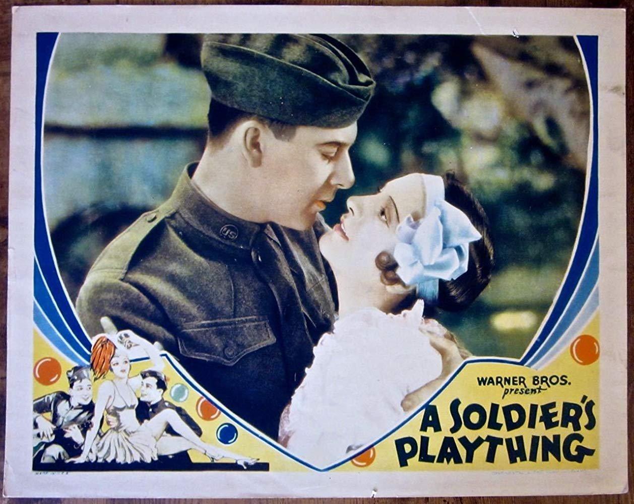 A Soldier´s Plaything (1930) - Ben Lyon  DVD