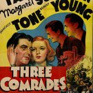 Three Comrades (1938) - Robert Taylor  DVD