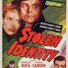 Stolen Identity (1953) - Donald Buka  DVD