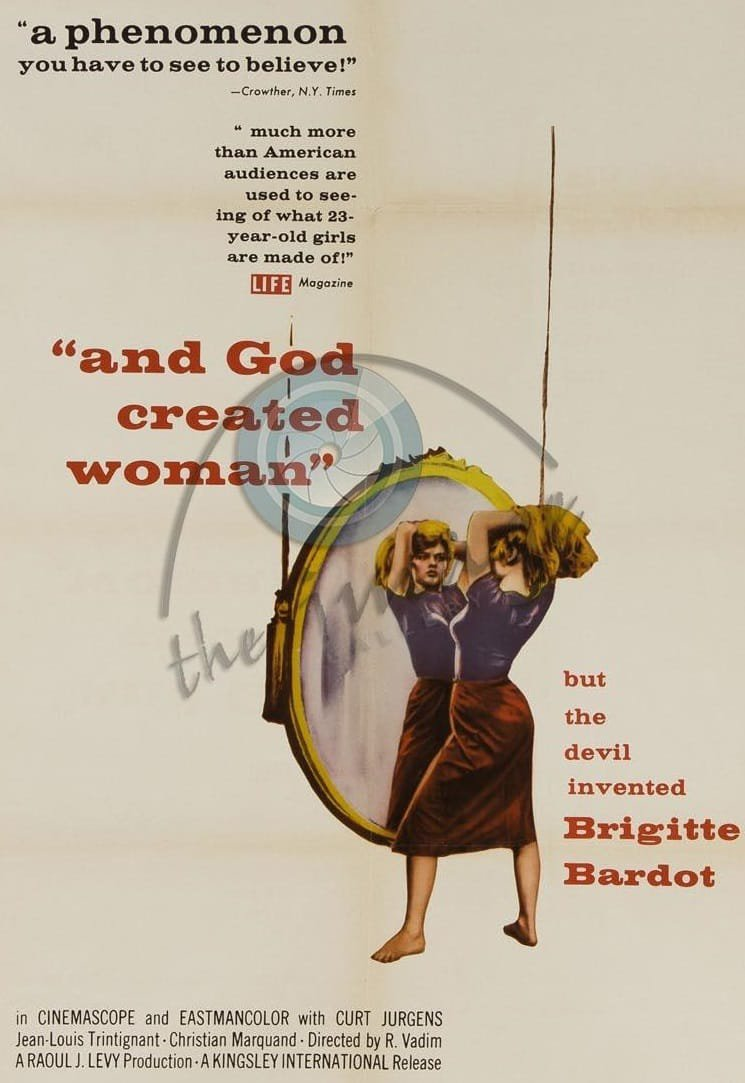 And God Created Woman (1956) - Brigitte Bardot  DVD
