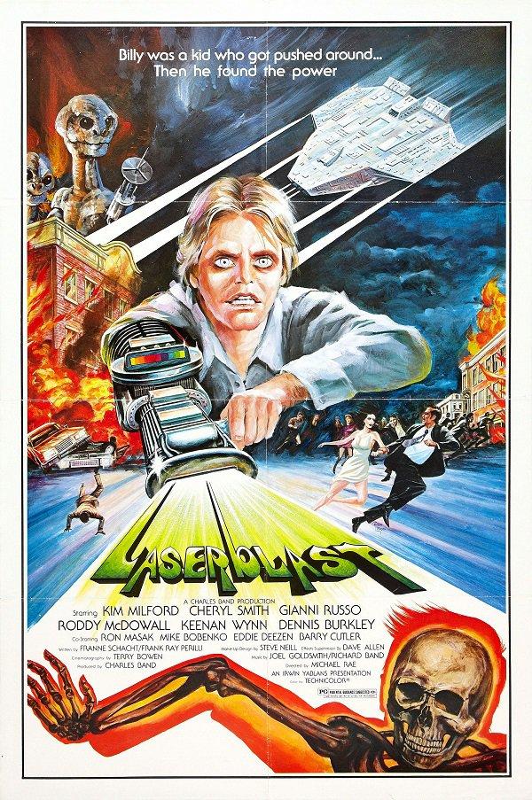 Laserblast (1978) - Kim Milford  DVD