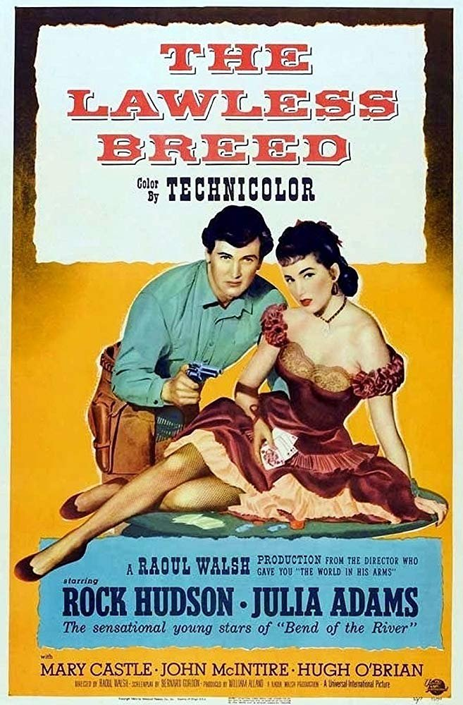 The Lawless Breed (1953) - Rock Hudson  DVD