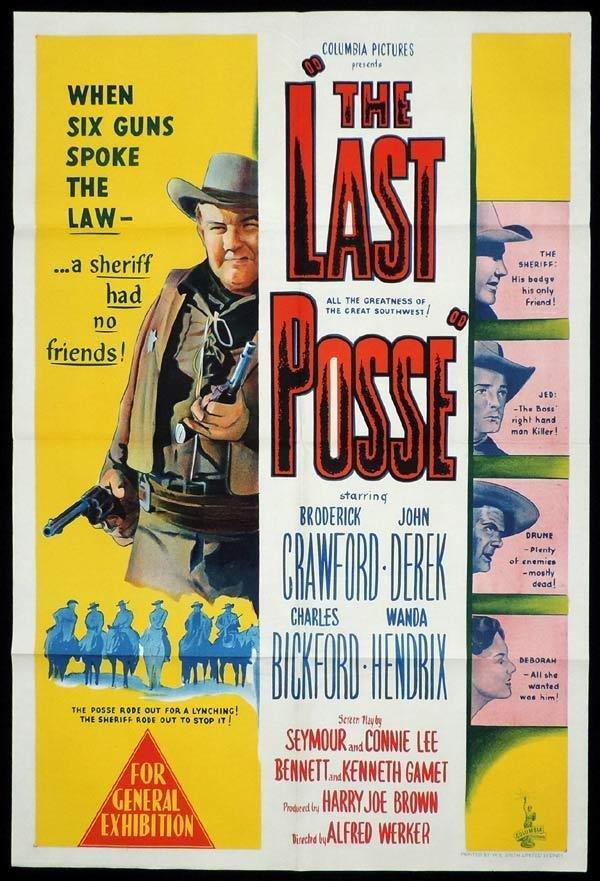 The Last Posse (1953) - John Derek  DVD