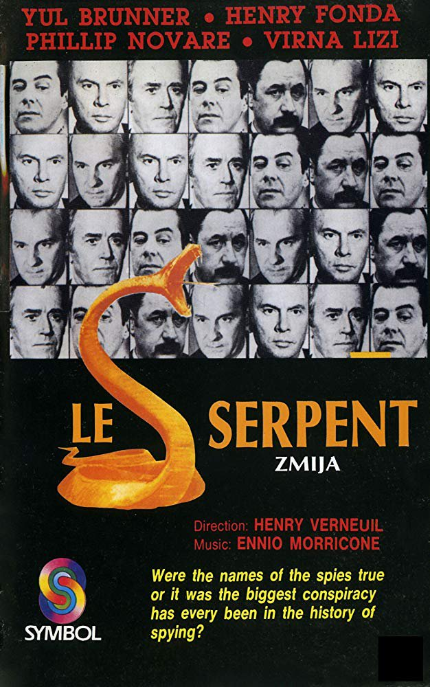 The Serpent (1973) - Yul Brynner  DVD