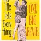 One Big Affair (1952) - Dennis O´Keefe  DVD