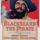 Blackbeard The Pirate (1952) - Robert Newton  DVD