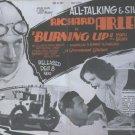 Burning Up (1930) - Richard Arlen  DVD